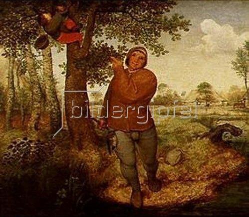 Pieter Brueghel d.Ä.: Der Vogeldieb. 1568