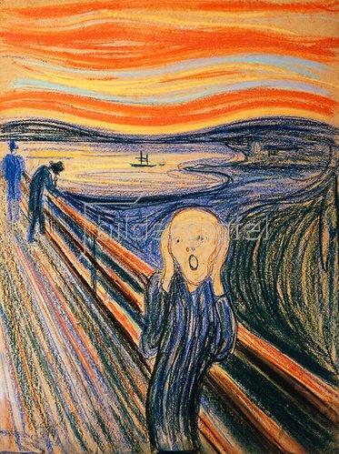 Edvard Munch: Der Schrei. 1895