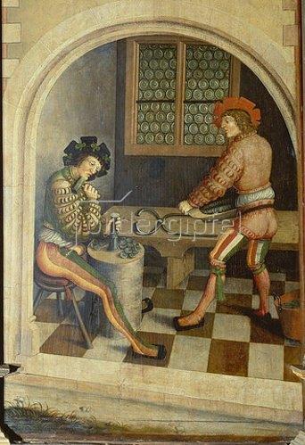 Hans Hesse: Annaberger Bergmanns-Altar. Die Münzpräge.