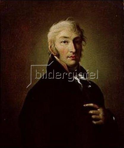 Giovanni B Damon-Ortolani: Bildnis des N.M.Karamzin. 1805.