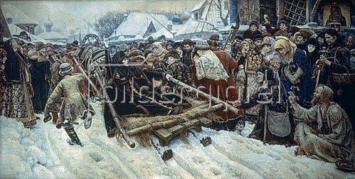 Wassilij Iwanowitsch Surikow: Die Bojarin Morosowa. 1887.