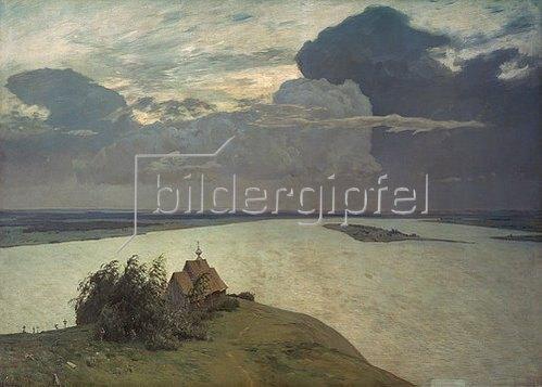Isaak Iljitsch Lewitan: Über der ewigen Ruhe. 1894