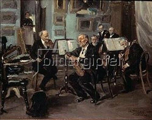 Wladimir J Makovskij: Das Quartett.