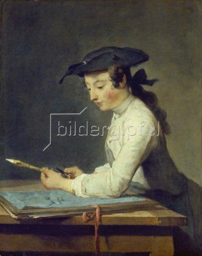 Jean-Baptiste Siméon Chardin: Der Zeichner. 1737.