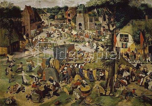 Pieter Brueghel d.J.: Die Hoboken- oder St.Georgs- Kirchweih.