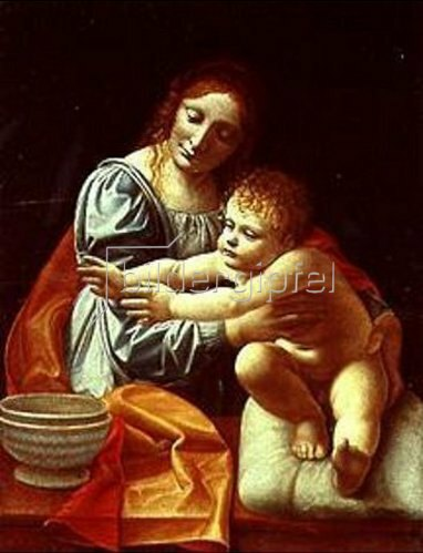 Giovanni Boltraffio: Maria mit dem Kinde.