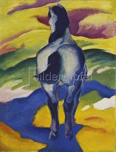 Franz Marc: Blaues Pferd II. 1911
