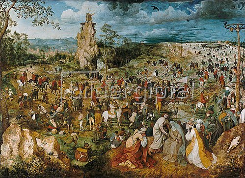 Pieter Brueghel d.Ä.: Die Kreuztragung Christi. 1569