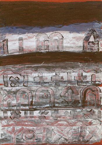 Paul Klee: Nekropolis 1930