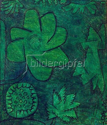 Paul Klee: Tief im Wald. 1939
