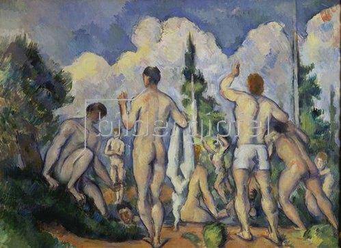 Paul Cézanne: Die Badenden. Gegen 1890/92