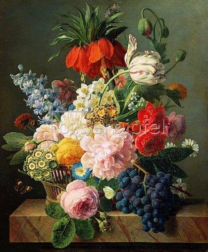 Jan Frans van Dael: Blumen und Früchte. 1827