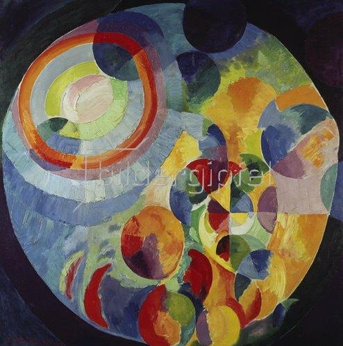 Robert Delaunay: Formes circulaires, Soleil et Lune. 1912/31