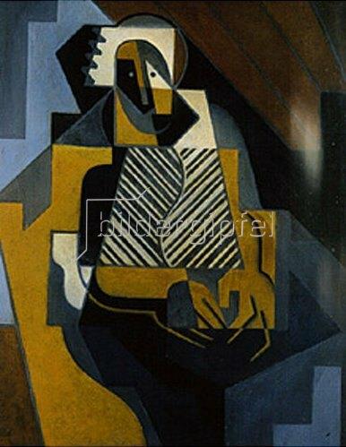 Juan Gris: Die Schottin. 1910.