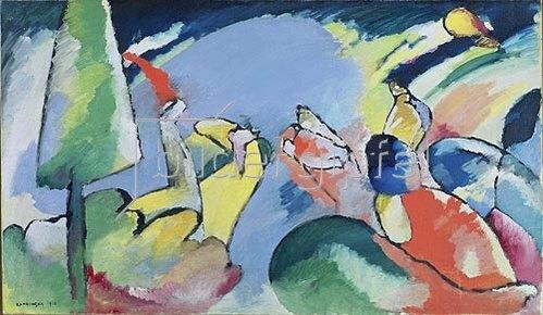 Wassily Kandinsky: Improvisation XIV. 1910.