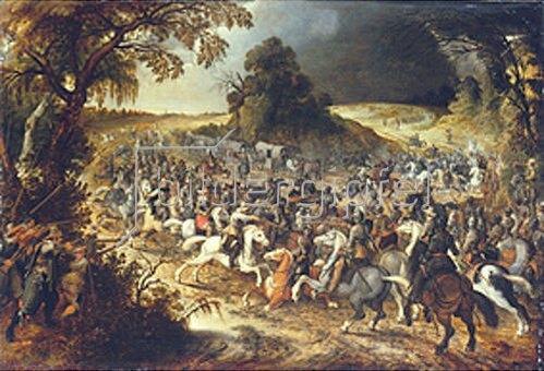 Sebastian Vrancx: Das Reitergefecht.