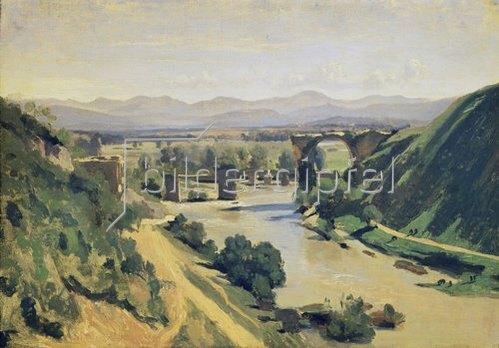Jean-Baptiste Camille Corot: Die Brücke von Narni. 1826