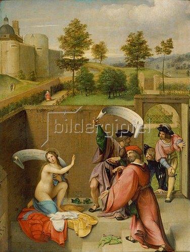 Lorenzo Lotto: Die Keuschheit der Susanne.
