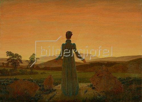 Caspar David Friedrich: Frau in der Morgensonne. Um 1818
