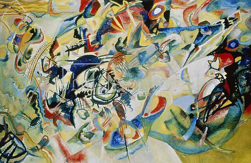 Wassily Kandinsky: Komposition N 7. 1913.
