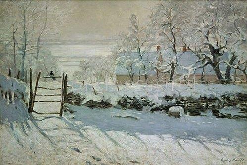 Claude Monet: Die Elster. 1868/69