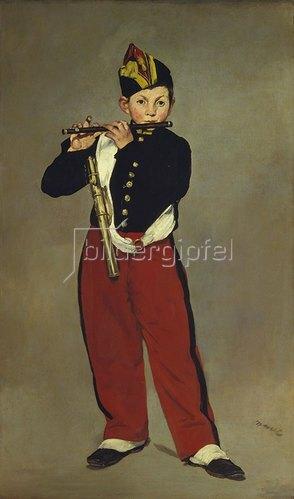 Edouard Manet: Der Pfeifer. 1866