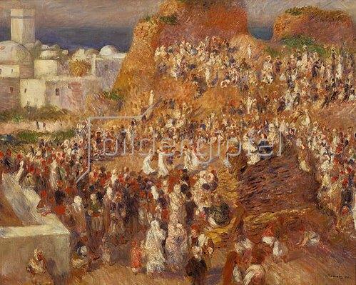 Auguste Renoir: Arabisches Fest. 1881.