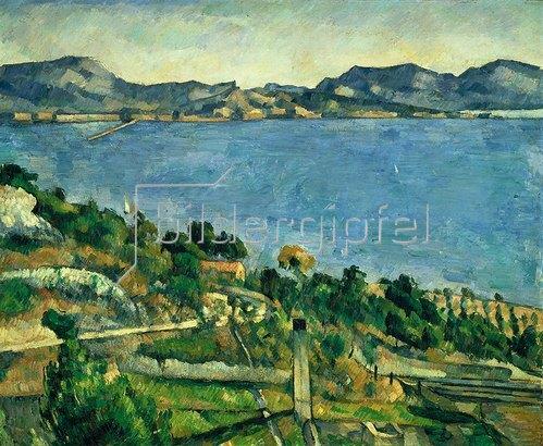 Paul Cézanne: L'Estaque. Landschaft im Golf von Marseille. Gegen 1878/1879.