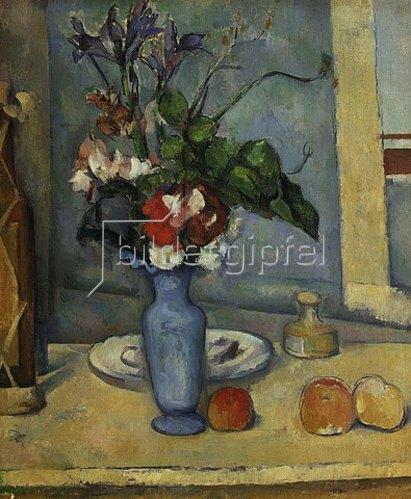Paul Cézanne: Die blaue Vase. Gegen 1885/1887.