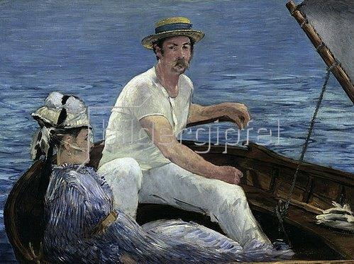 Edouard Manet: Die Bootspartie. 1874
