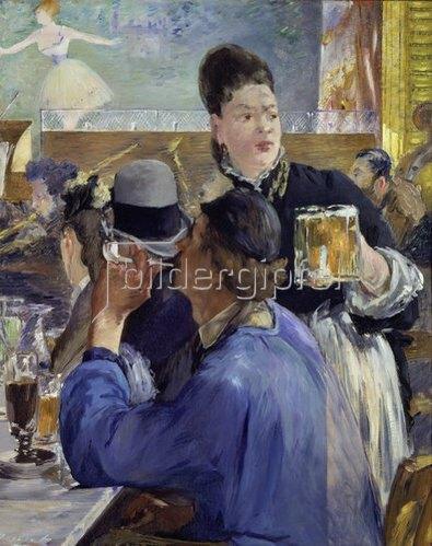 Edouard Manet: Die Bierkellnerin. 1879