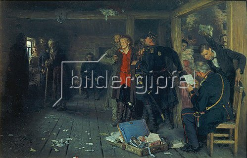 Ilja Efimowitsch Repin: Die Verhaftung eines Propagandisten. 1880-1992
