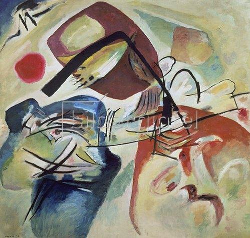Wassily Kandinsky: Bild mit schwarzem Bogen. 1912.