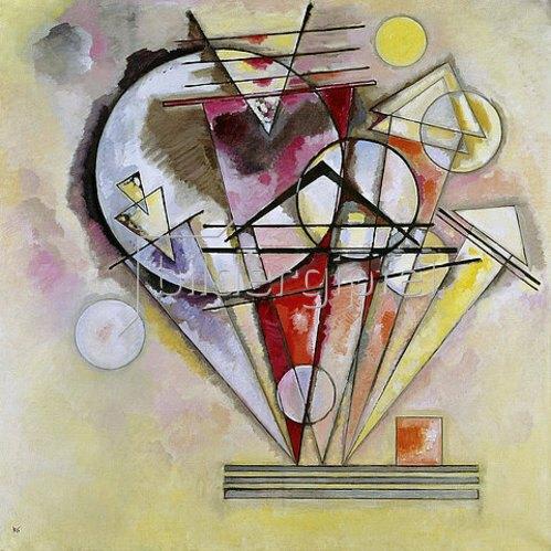 Wassily Kandinsky: Auf Spitzen. 1928.