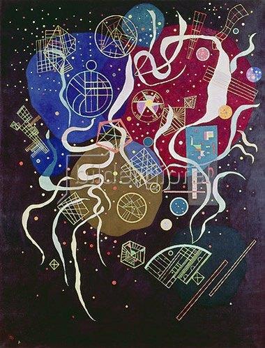 Wassily Kandinsky: Bewegung I., 1935.