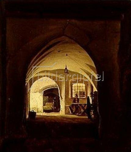 Christian E.B Morgenstern: In einer Schenke in Partenkirchen. 1831
