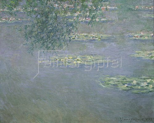 Claude Monet: Seerosen. 1903.