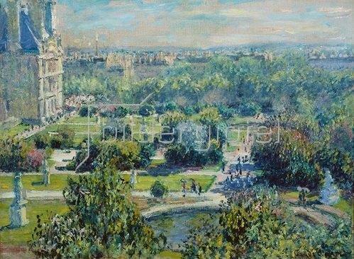 Claude Monet: Die Tuilerien in Paris. 1876