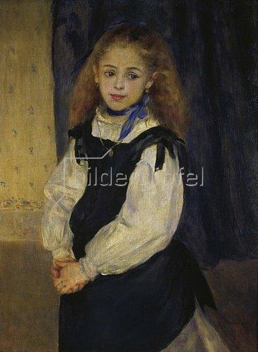 Auguste Renoir: Bildnis der Tochter Legrand. 1875.