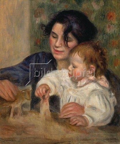 Auguste Renoir: Gabrielle und Jean.