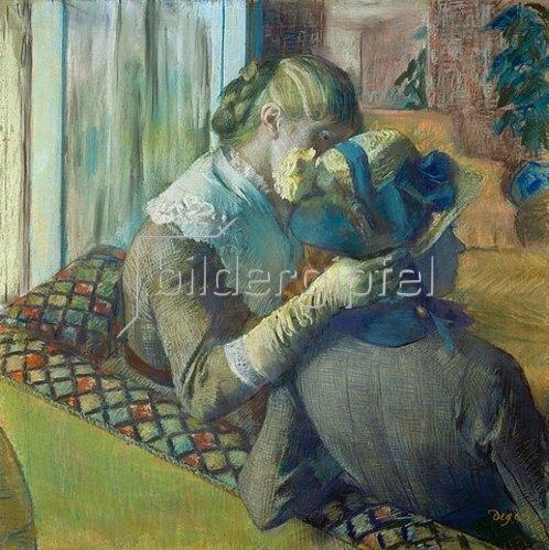 Edgar Degas: Zwei Frauen.