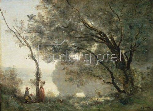 Jean-Baptiste Camille Corot: Erinnerungen an Mortefontaine. 1864.