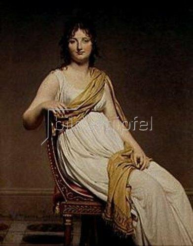 Jacques Louis David: Bildnis der Madame Verniac.