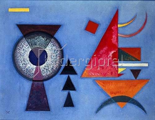 Wassily Kandinsky: Weiches Hart. 1927