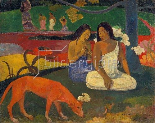Paul Gauguin: Arearea (Der rote Hund). 1892