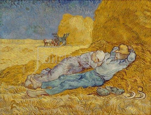 Vincent van Gogh: Das Mittagsschläfchen. 1889/90