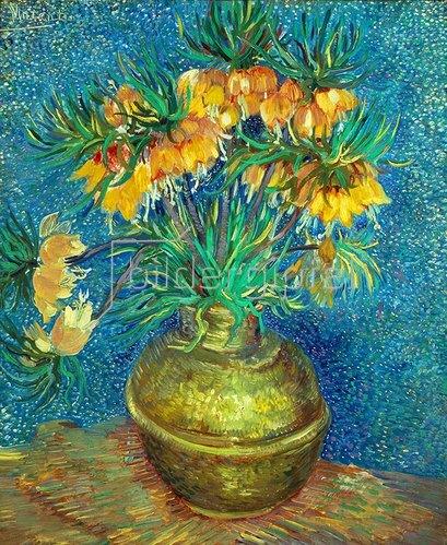 Vincent van Gogh: Kupfervase mit Kaiserkronen. 1886.