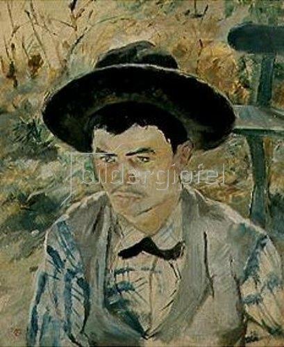 Henri de Toulouse-Lautrec: Der junge Routy Céleyran. 1882