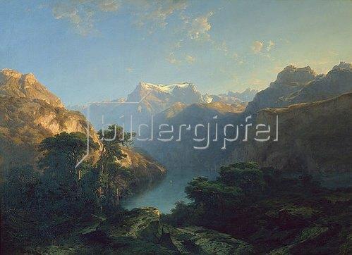 Alexandre Calame: Der Urnersee. 1849