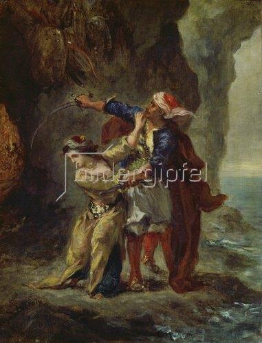 Eugene Delacroix: Die Verlobte des Abydos. 1843